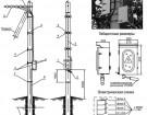 Устройство заземления  ВЛИ-0,4 кВ УЗ ВЛ