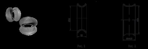 Кольцевые коушы КК-30 (50)