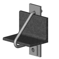 Промежуточные узлы крепления УП(1) для монтажа ОКСН и ОКГТ